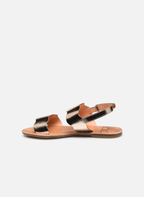 Sandales et nu-pieds Pepe jeans Mandy Waves Or et bronze vue face