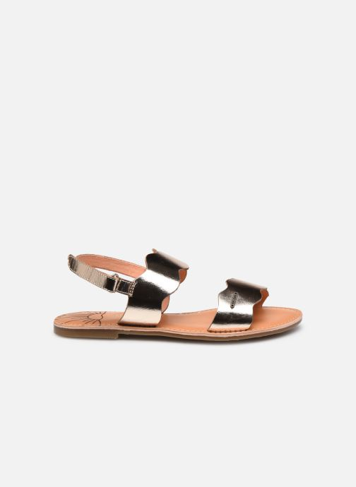 Sandales et nu-pieds Pepe jeans Mandy Waves Or et bronze vue derrière