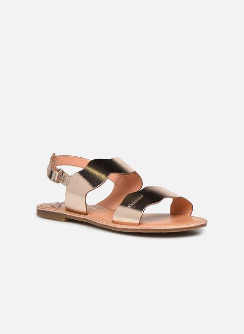 Sandales et nu-pieds Pepe jeans Mandy Waves Or et bronze vue détail/paire
