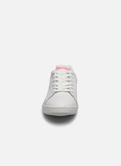 Baskets Pepe jeans Lambert Girl Blanc vue portées chaussures