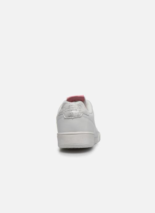 Baskets Pepe jeans Lambert Girl Blanc vue droite