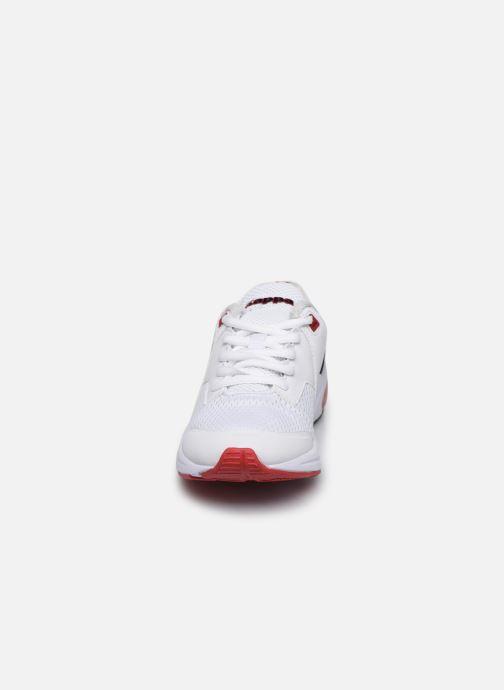 Baskets Kappa Snugger Blanc vue portées chaussures