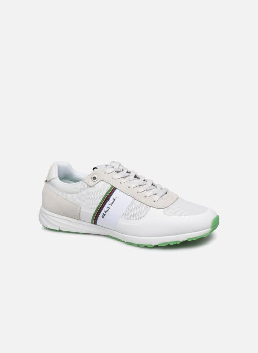 Baskets PS Paul Smith Huey Blanc vue détail/paire