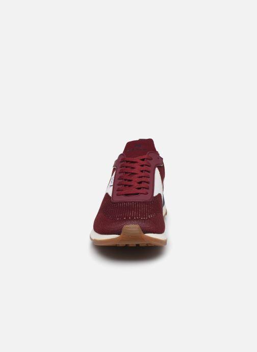 Baskets PS Paul Smith Rocket Bordeaux vue portées chaussures
