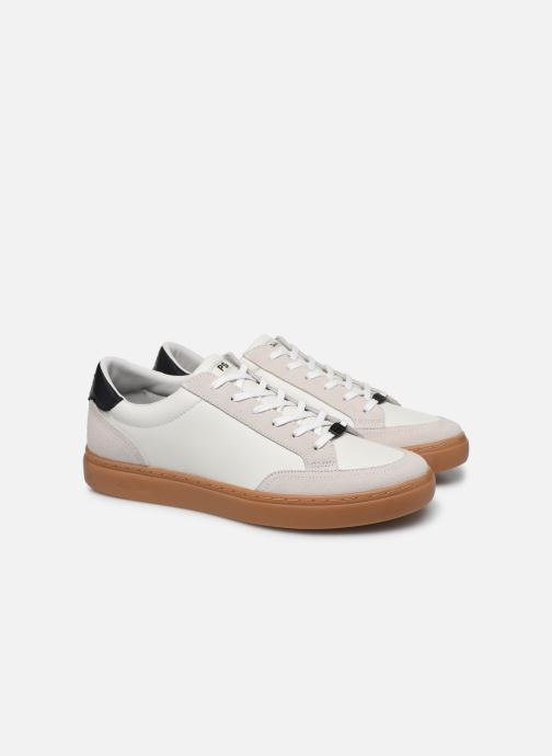 Baskets PS Paul Smith Troy Blanc vue 3/4