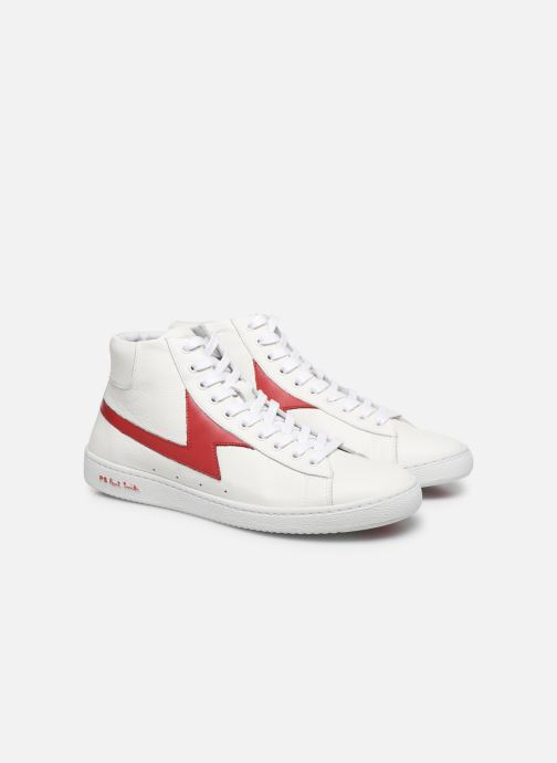 Baskets PS Paul Smith Zag Blanc vue 3/4