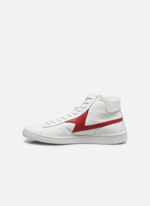 Baskets PS Paul Smith Zag Blanc vue face