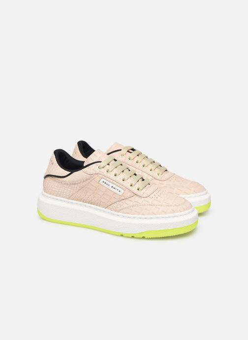 Baskets PS Paul Smith Hackney Beige vue 3/4