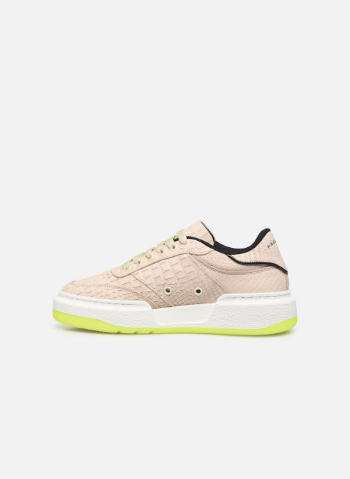 Baskets PS Paul Smith Hackney Beige vue face