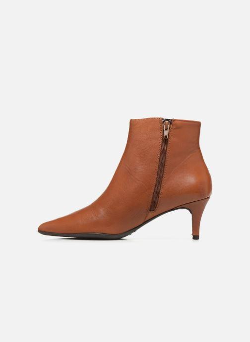 Boots en enkellaarsjes Drass H-2000 Bruin voorkant