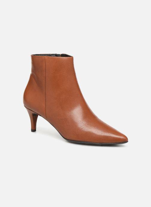 Boots en enkellaarsjes Drass H-2000 Bruin detail