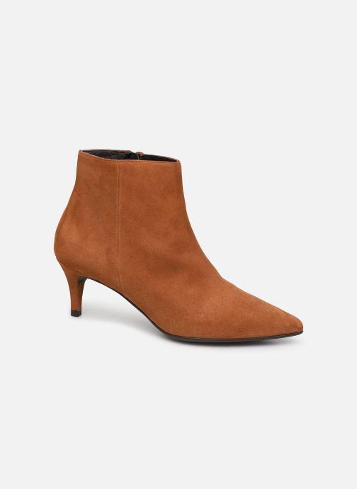 Bottines et boots Drass H-2000 Marron vue détail/paire