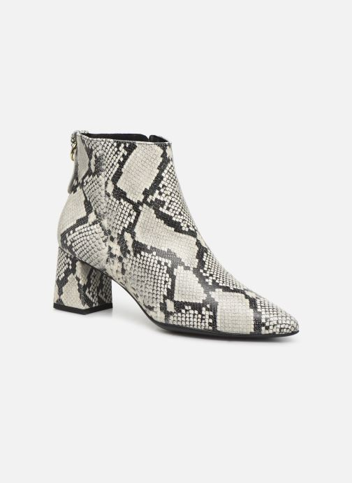 Bottines et boots Drass H-2001 Blanc vue détail/paire