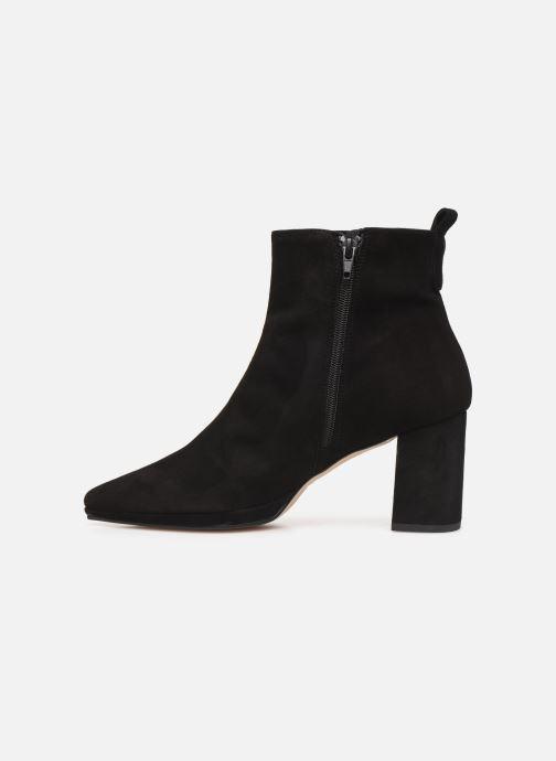Bottines et boots Drass H-2006 Noir vue face