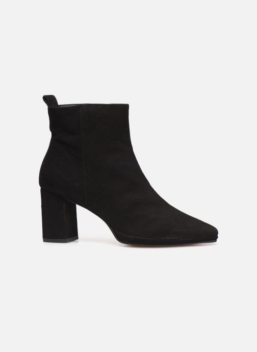 Bottines et boots Drass H-2006 Noir vue derrière