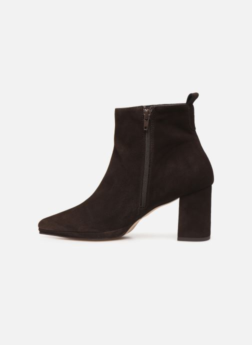 Bottines et boots Drass H-2006 Marron vue face