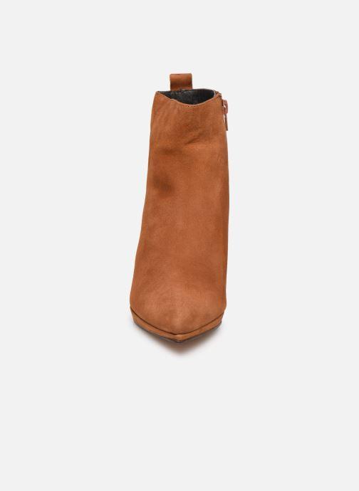 Bottines et boots Drass H-2006 Marron vue portées chaussures