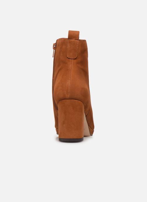 Bottines et boots Drass H-2006 Marron vue droite