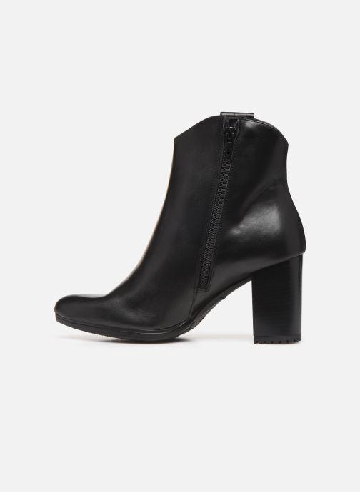 Bottines et boots Drass H-2010 Noir vue face