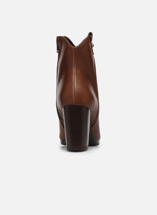 Bottines et boots Drass H-2010 Marron vue droite