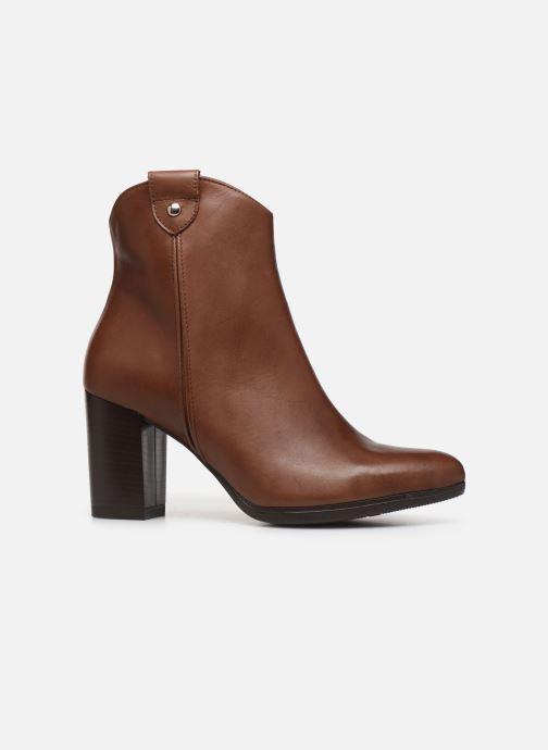 Bottines et boots Drass H-2010 Marron vue derrière