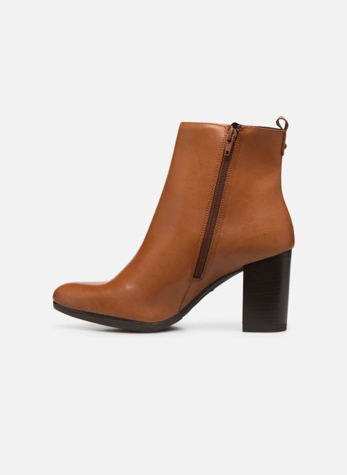 Bottines et boots Drass H-2010 Marron vue face