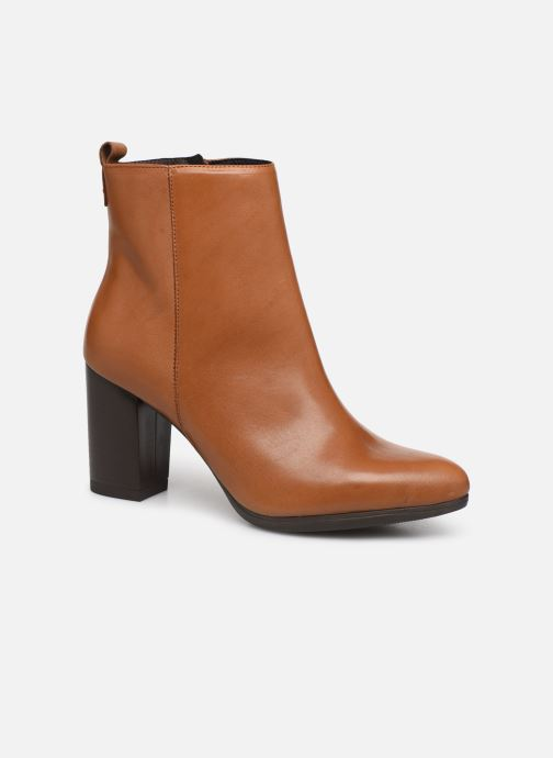 Bottines et boots Drass H-2010 Marron vue détail/paire