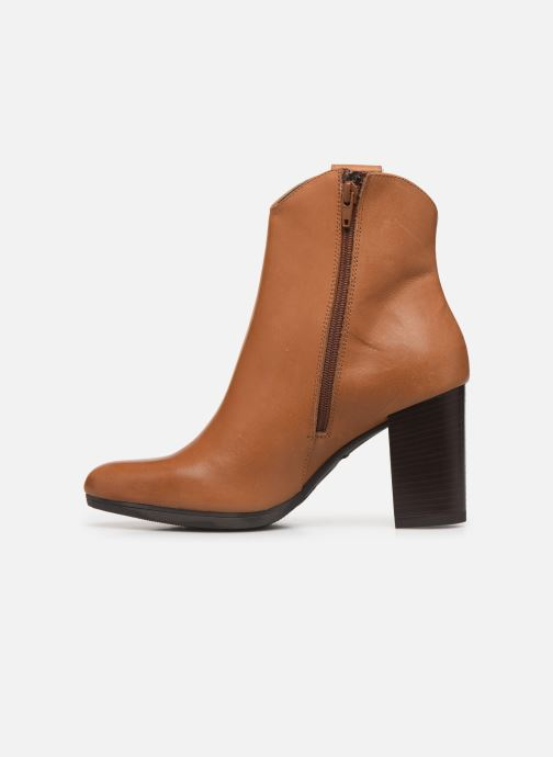 Bottines et boots Drass H-2011 Marron vue face