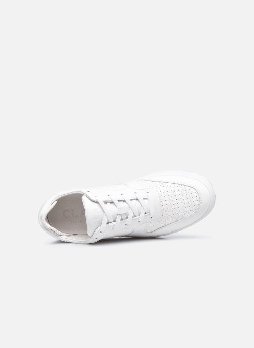 Sneaker Clae Malone W weiß ansicht von links
