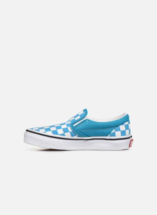 Baskets Vans UY Classic Slip-On Bleu vue face
