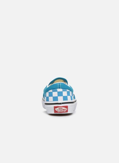 Sneakers Vans UY Classic Slip-On Blauw rechts