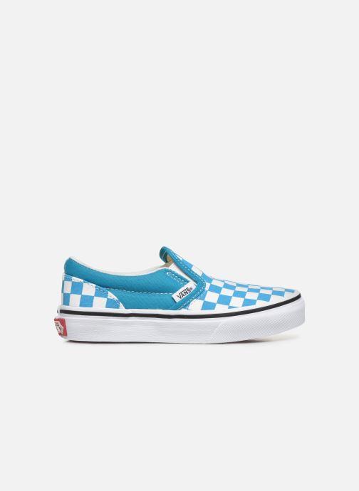 Sneakers Vans UY Classic Slip-On Blauw achterkant