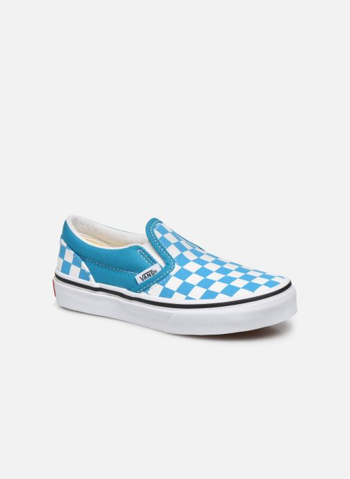 Sneakers Vans UY Classic Slip-On Blauw detail