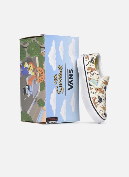 Deportivas Vans UY Classic Slip-On Blanco vista 3/4