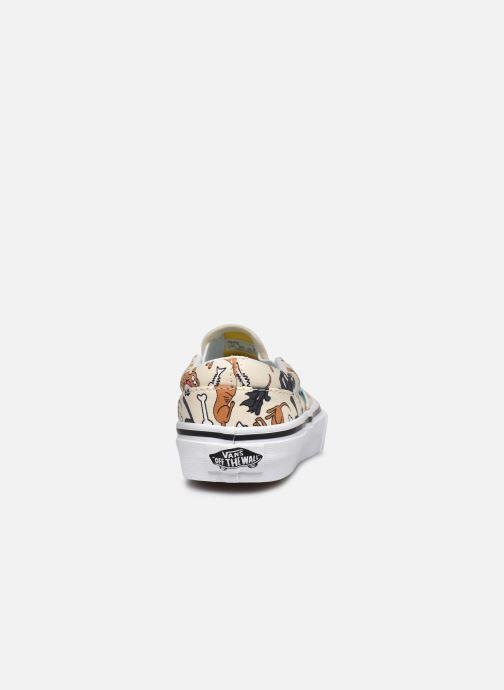 Sneaker Vans UY Classic Slip-On weiß ansicht von rechts
