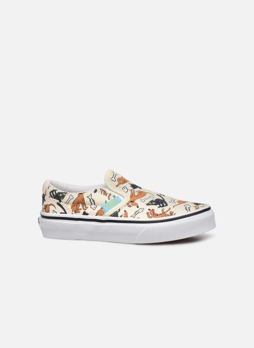 Sneaker Vans UY Classic Slip-On weiß ansicht von hinten