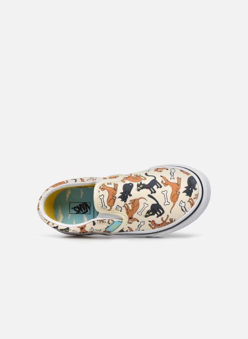 Sneaker Vans UY Classic Slip-On weiß ansicht von links