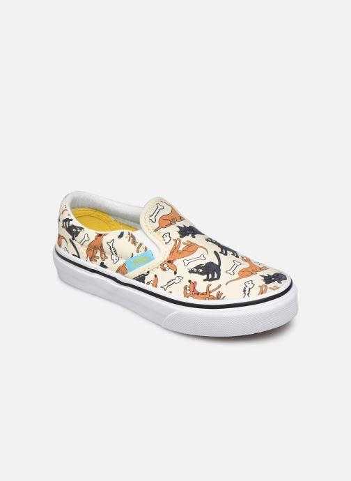 Sneaker Vans UY Classic Slip-On weiß detaillierte ansicht/modell