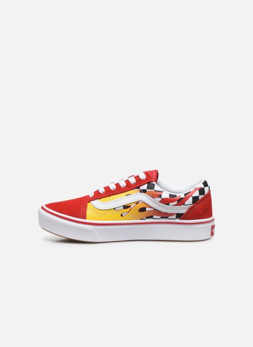 Sneaker Vans UY ComfyCush Old Skool rot ansicht von vorne