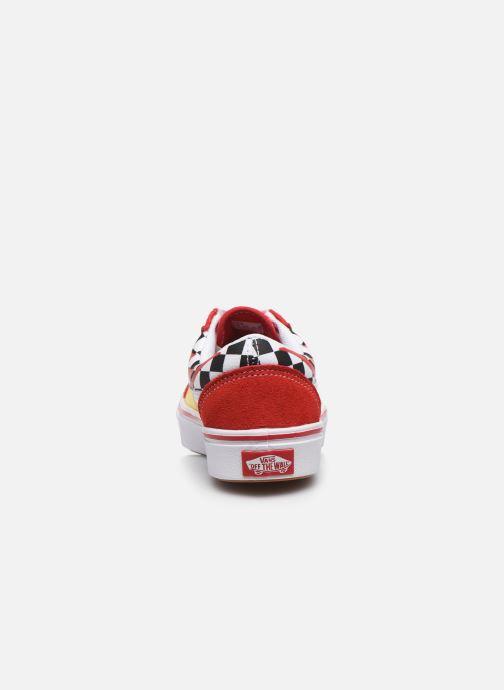 Sneaker Vans UY ComfyCush Old Skool rot ansicht von rechts