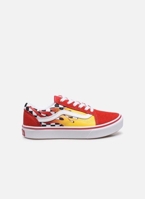 Sneaker Vans UY ComfyCush Old Skool rot ansicht von hinten