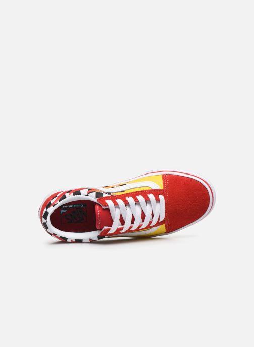 Sneaker Vans UY ComfyCush Old Skool rot ansicht von links
