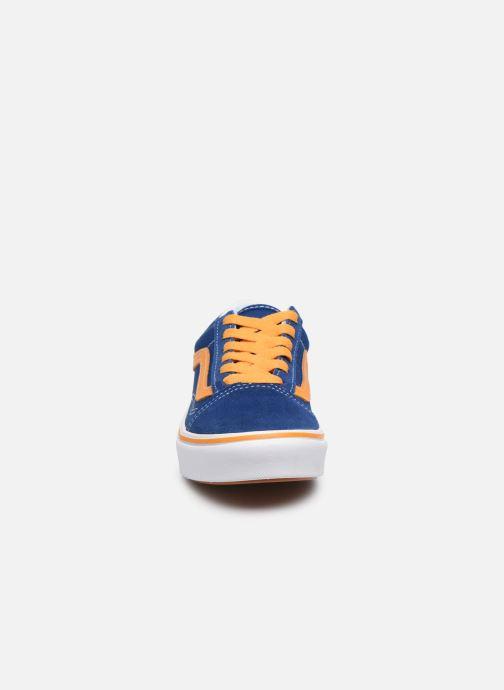 Baskets Vans UY ComfyCush Old Skool Bleu vue portées chaussures