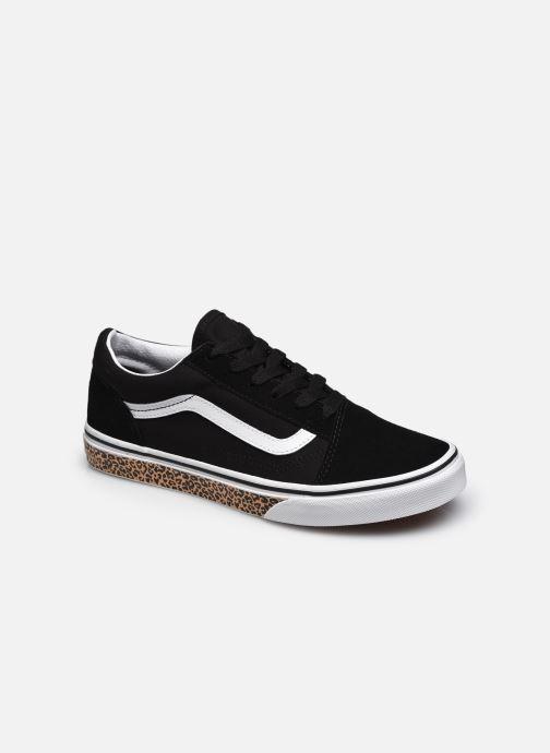 Sneaker Vans JN Old Skool schwarz detaillierte ansicht/modell