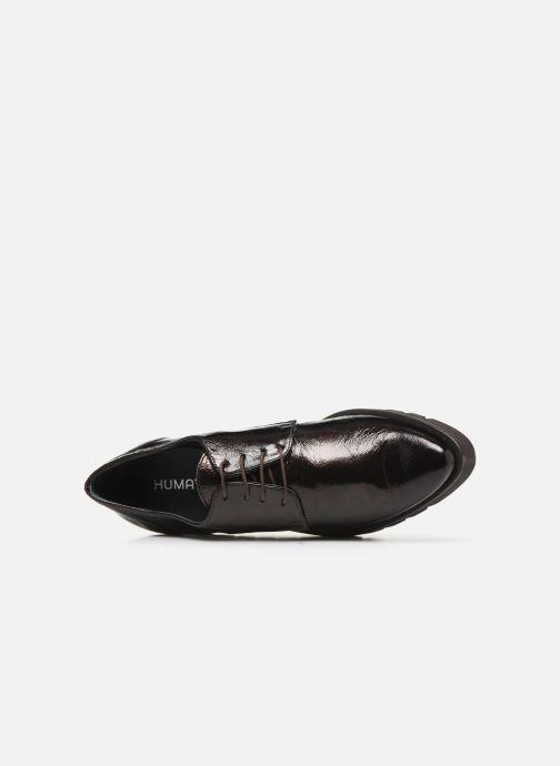 Zapatos con cordones Humat Gote Blucher Marrón vista lateral izquierda