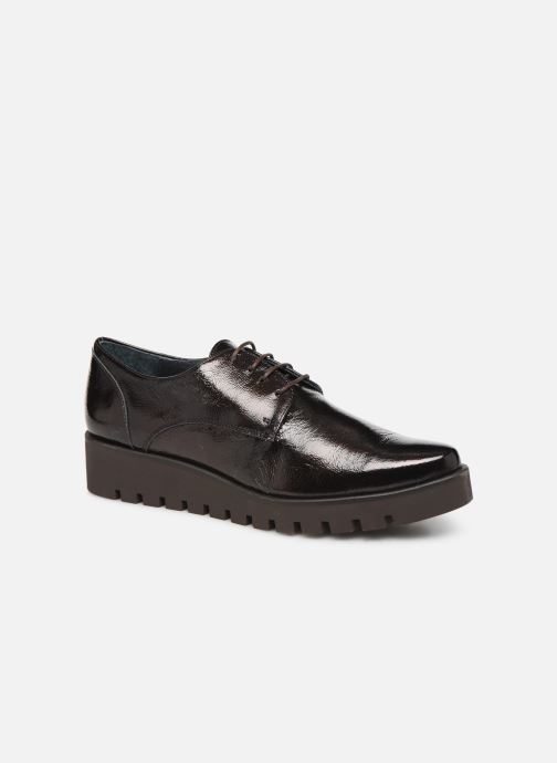 Lace-up shoes Humat Gote Blucher Brown detailed view/ Pair view