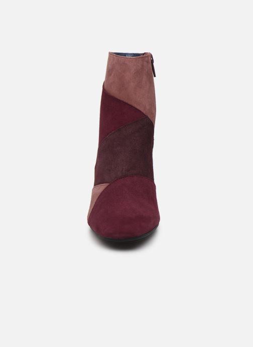 Stiefeletten & Boots Humat Olga weinrot schuhe getragen