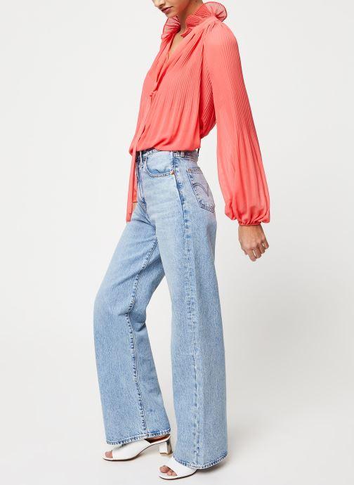 Vêtements School Rag Chemise Caina Orange vue bas / vue portée sac