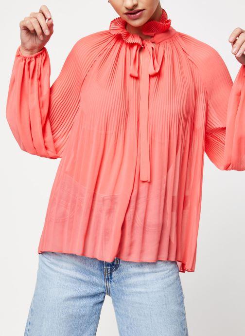 Vêtements School Rag Chemise Caina Orange vue droite