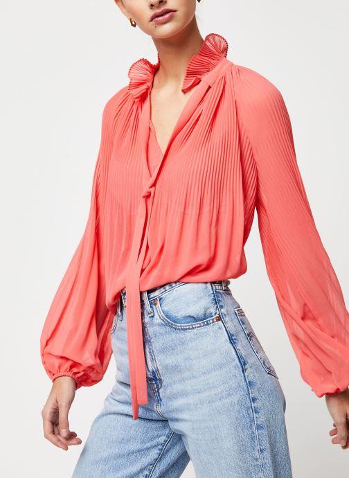 Vêtements School Rag Chemise Caina Orange vue détail/paire